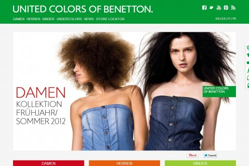Benetton sito ufficiale italiano for United colors of benetton online shop outlet