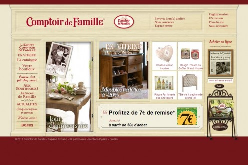 comptoir de famille italia catalogo. Black Bedroom Furniture Sets. Home Design Ideas
