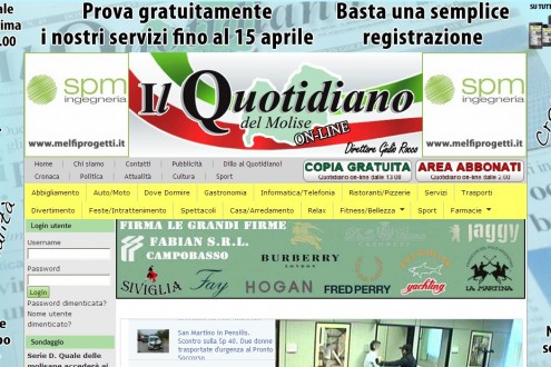 Quotidiano Del Molise On Line